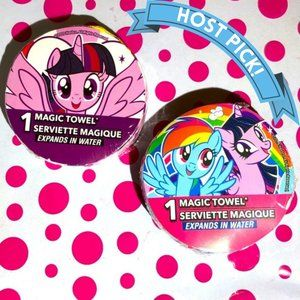 HP! NWT My Little Pony Magic Wash Cloths 2pc